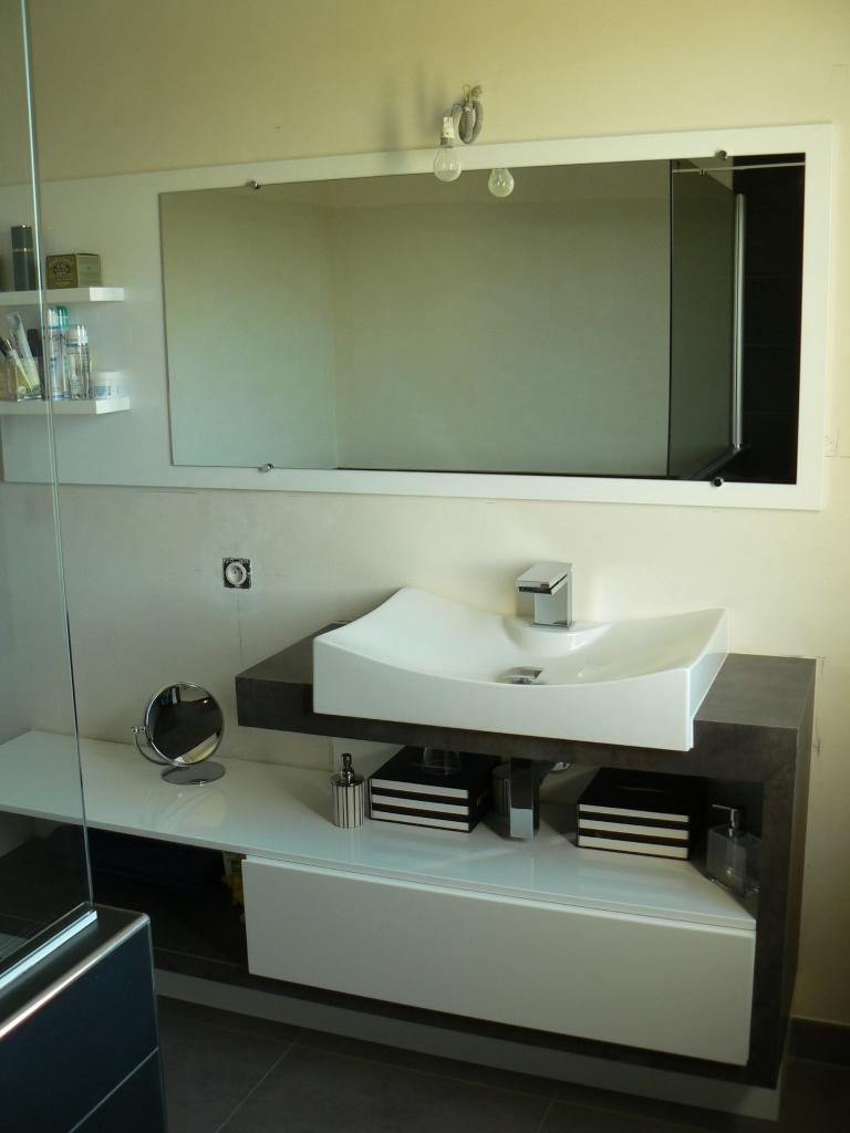 Magasin Salle De Bain Muret ~ exemple d am nagement salle de bain laqu e salle de bain avec